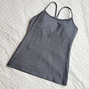 Lululemon Grey Workout Tank Top